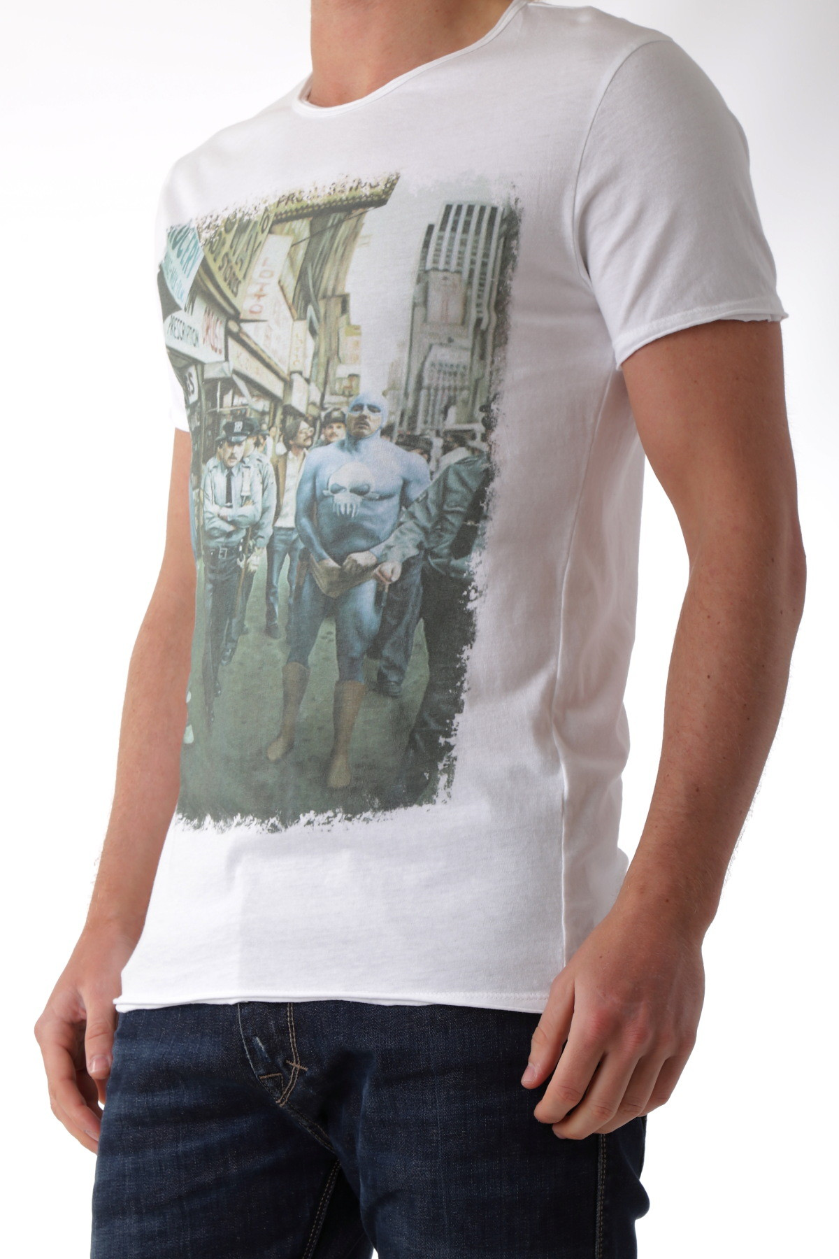 man t shirt made in italy